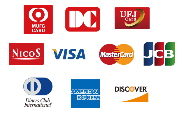クレジットカードの使用について